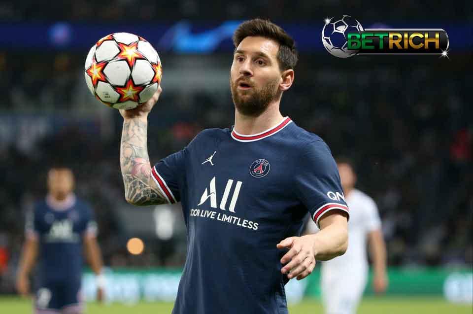 Lionel Messiร่วมParis Saint-Germain